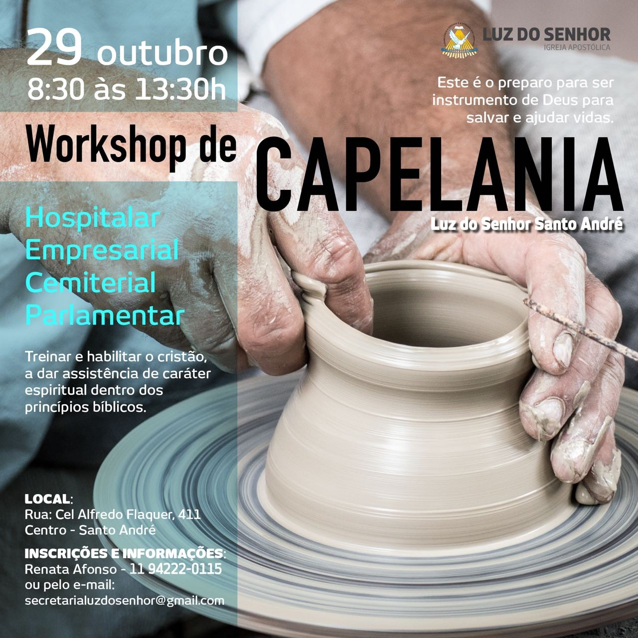 Workshop de Capelania